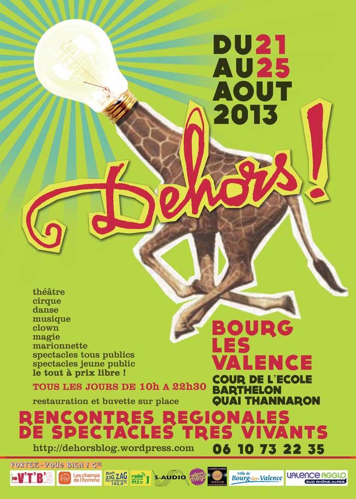 Festival Dehors ! 2013