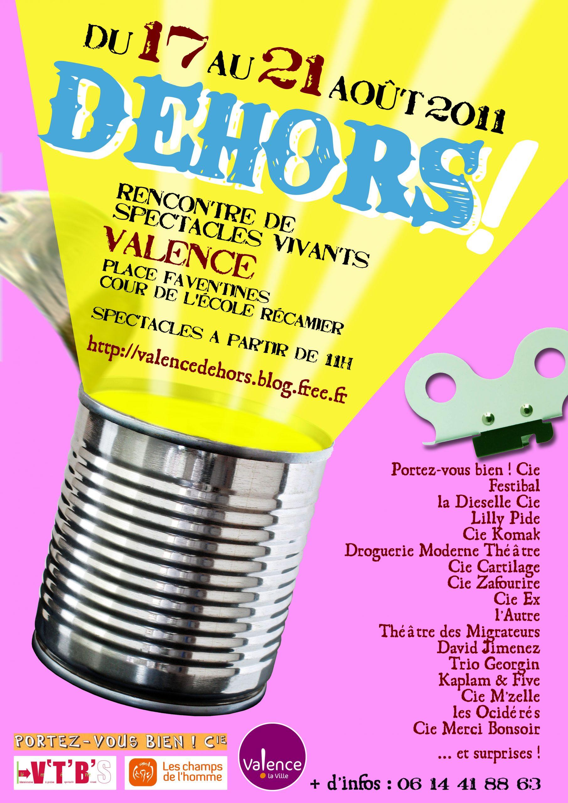 Festival Dehors ! 2011