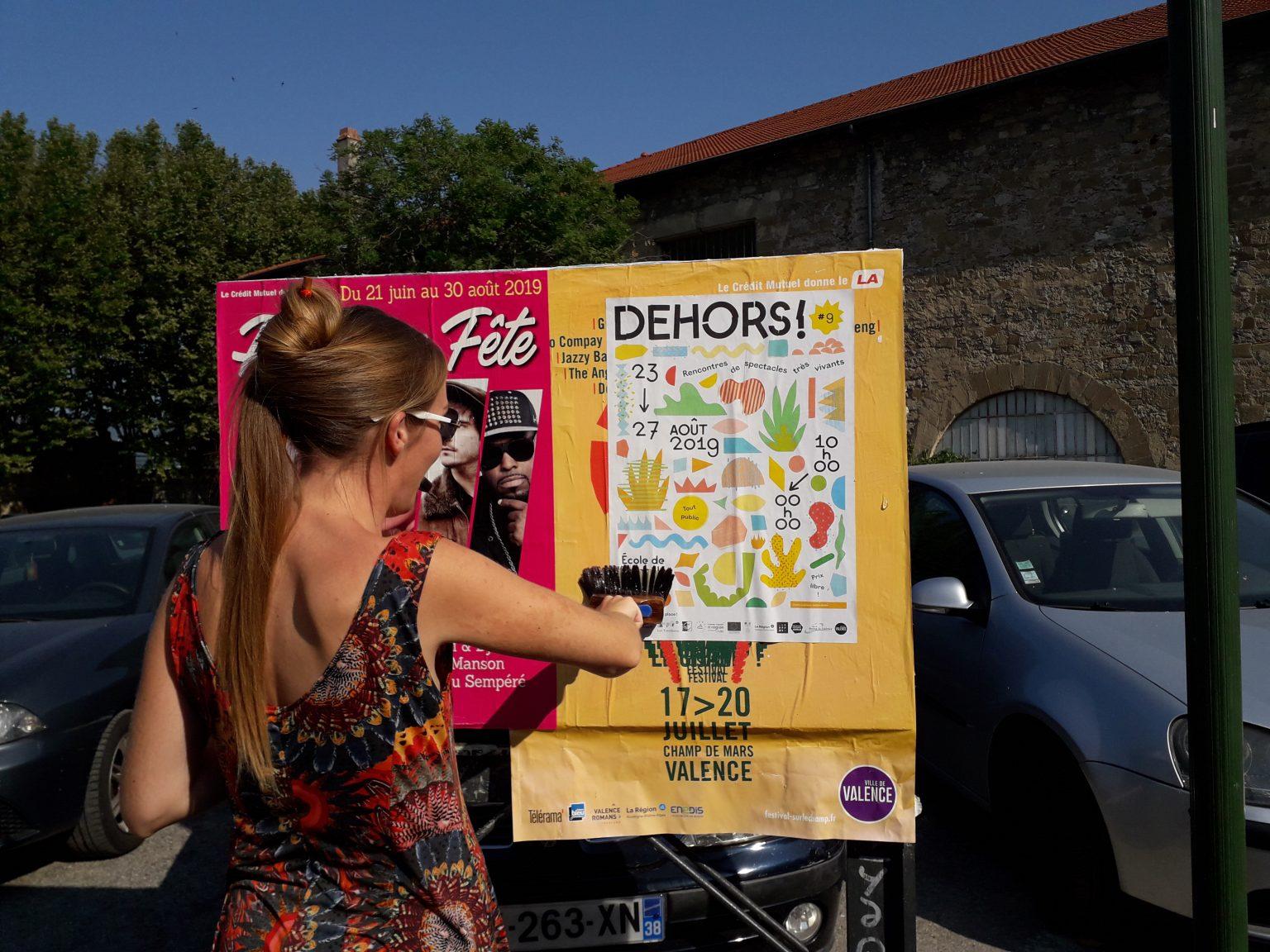 Bénévolat festival Dehors